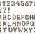 alphabet from plastic caps stock photo © jonnysek