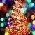 altın · noel · ağacı · beyaz · oda · yeşil · dekore · edilmiş - stok fotoğraf © jonnysek