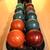 bowling · golyók · konténer · színes · sport · narancs - stock fotó © joruba