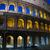 coliseo · noche · famoso · mojón · Roma · Italia - foto stock © joruba