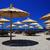 Beach parasols stock photo © joruba