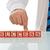 biznesmen · bloków · sukces · podpisania · działalności - zdjęcia stock © joseph73