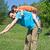 vader · zoon · gelukkig · vader · glimlachend · zoon · spelen - stockfoto © joseph73