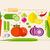 vegetables in flat style stock photo © jossdiim