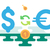 dollar euro currency exchange stock photo © jossdiim