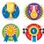 set of rewards icons stock photo © jossdiim