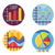 graphs and diagrams icons set stock photo © jossdiim