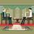 politician interview flat design stock photo © jossdiim