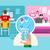 online · video · conferentie · vector · man · chat - stockfoto © jossdiim