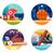 colored icons popular sports stock photo © jossdiim