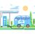 coche · eléctrico · industria · cable · energía · futuro · tráfico - foto stock © jossdiim