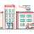 hospital building flat style stock photo © jossdiim
