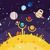 astrologia · pianeta · alfabeto · globale - foto d'archivio © jossdiim