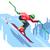 kayakçı · yalıtılmış · beyaz · kişi · kayakçılık · vektör - stok fotoğraf © jossdiim