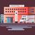 hospital building design flat stock photo © jossdiim