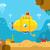onderzeeër · water · illustratie · vector · natuur · landschap - stockfoto © jossdiim
