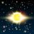 vettore · sole · illustrazione · splendente · spazio · cielo - foto d'archivio © Jugulator