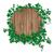 ivy · foglia · decorato · legno · vettore - foto d'archivio © Jugulator
