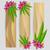 vector · tekst · tropische · hibiscus · bloemen · vintage - stockfoto © jugulator