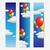 palloncini · volare · nubi · cielo · design · banner - foto d'archivio © jugulator