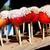 doce · maçãs · três · vermelho · plástico · pronto - foto stock © juhku