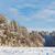 congelado · lago · nieve · cubierto · forestales · soleado - foto stock © juhku