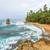 hermosa · playa · tropical · exuberante · vegetación · dorado · arena - foto stock © juhku