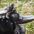 worn iron anvil apron and gloves stock photo © juhku