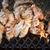 ızgara · domuz · küçük · garden · parti · çiftlik · akşam · yemeği - stok fotoğraf © juhku