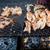 большой · барбекю · группа · людей · стороны · вечеринка · домой - Сток-фото © juhku