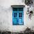 grunge · muur · venster · oude · verweerde · geschilderd - stockfoto © juhku