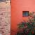 absztrakt · ház · homlokzat · kék · ég · család · nap - stock fotó © juhku