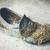 abandonado · sapato · concreto · piso · moda · preto - foto stock © juhku