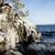 凍結 · 岩 · 崖 · 日の出 · 光 · 水 - ストックフォト © juhku