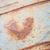 fémes · rozsda · textúra · szív · alak · rozsdás · szeretet - stock fotó © juhku