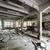 abandonado · fábrica · concretas · interior · sucia · piso - foto stock © juhku