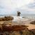 tropikal · plaj · manzara · kaya · oluşumu · ada · okyanus · mağara - stok fotoğraf © juhku