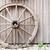 古い · ワゴン · ホイール · 木製 · 壁 · 納屋 - ストックフォト © juhku