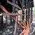 木製 · 壁 · 火災 · 黒 · テクスチャ · デザイン - ストックフォト © juhku