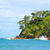 ocean and forest cliff manuel antonio costa rica stock photo © juhku