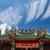 kínai · templom · tető · arany · dekoráció · kék · ég - stock fotó © juhku