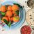sağlıklı · vejetaryen · kahvaltı · tablo · olgun · mavi - stok fotoğraf © Julietphotography