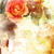 romantic orange roses background stock photo © julietphotography