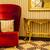 lusso · poltrona · reale · rosso · interni · modello - foto d'archivio © juniart