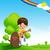 crianças · brincando · instrumentos · musicais · ilustração · criança · fundo · arte - foto stock © kaikoro_kgd