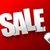 Sale text with barcode hang tag on dark red background stock photo © kaikoro_kgd