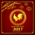 happy new year 2017 chinese art style red rooster for design and stock photo © kaikoro_kgd