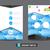 Flyer · брошюра · шаблон · дизайн · шаблона · голубой · стиль - Сток-фото © kaikoro_kgd
