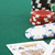 King and queen cards and poker chips stock photo © Kajura