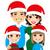 mikulás · örömteli · gyerekek · kicsi · karácsonyfa · szarvas - stock fotó © kakigori